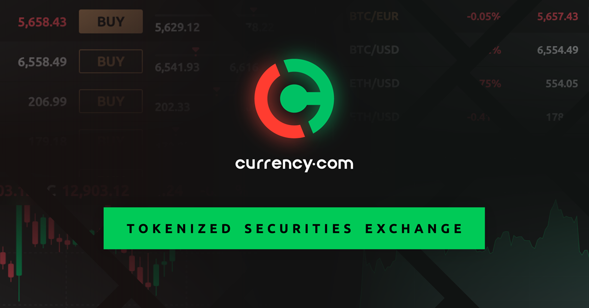 Information on tokens trading | Currency com